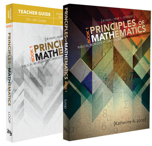 Principles of Mathematics (Book 1 – 6th or 7th Grade, or High School as  Review)