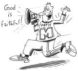 "Math shouting, ""God is faithful!"""