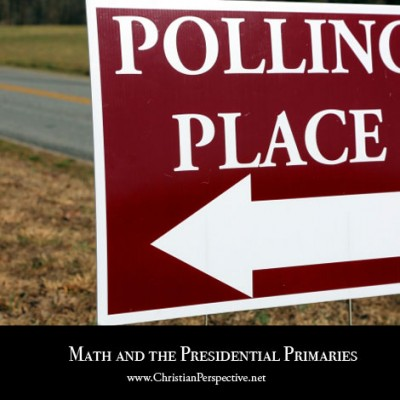 Math and the Presidential Primaries